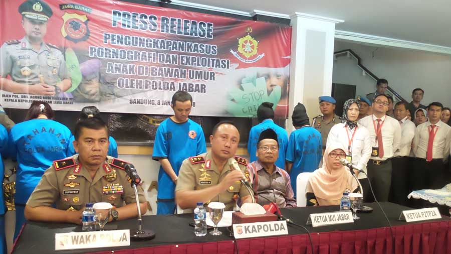 Press Release Polda Jabar.
