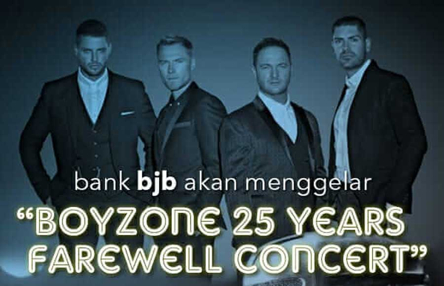 BOYZONE 25 YEARS FAREWELL CONCERT
