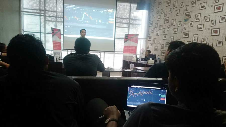 Workshop Binary Indonesia (BI) Jumat (22/3/2019).